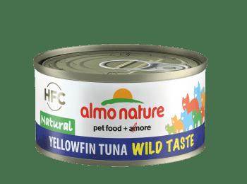 CAT HFC WILD TASTE NATURAL 70G