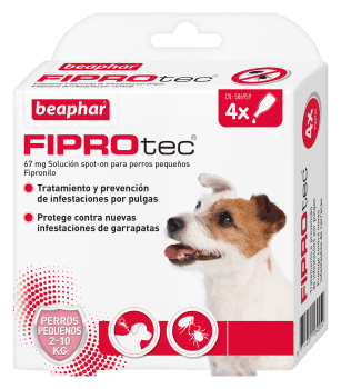 FIPROTEC SPOT ON PERRO PEQ. 2-10KG - 1