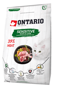 ONTARIO CAT SENSITIVE/DERMA
