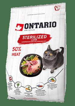 ONTARIO CAT STERILISED LAMB