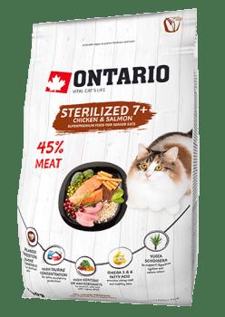 ONTARIO CAT STERILISED 7+