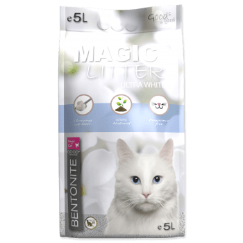 MAGIC CAT LITTER ULTRA WHITE