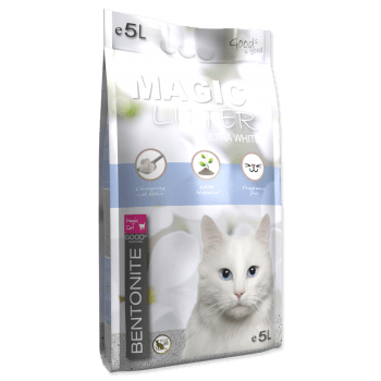 MAGIC CAT LITTER ULTRA WHITE - 1