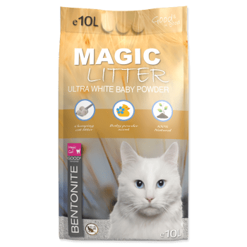 MAGIC CAT LITTER ULTRA WHITE BABY POWDER