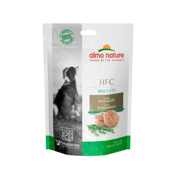 DOG HFC BISCUITS SNACK CON ROMERO