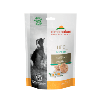 DOG HFC BISCUITS SNACK CON MANZANILLA