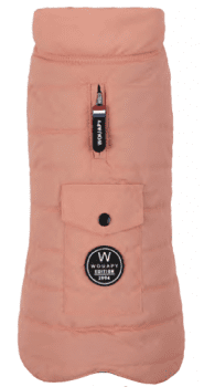 ABRIGO BASIC DOWN JACKET ROSE
