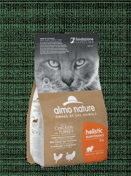 CAT DRY HOLISTIC ADULT POLLO Y PAVO
