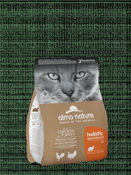 CAT DRY HOLISTIC ADULT POLLO Y PAVO - 1