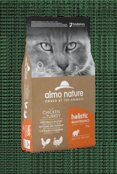 CAT DRY HOLISTIC ADULT POLLO Y PAVO - 2