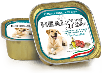 DOG ACEITE OLIVA ATUN/ARROZ