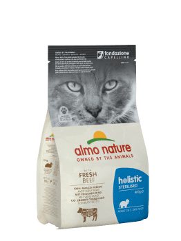 CAT DRY HOLISTIC STERILISED VACUNO Y ARROZ