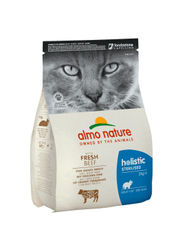 CAT DRY HOLISTIC STERILISED VACUNO Y ARROZ - 1