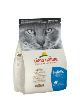 CAT DRY HOLISTIC STERILISED SALMON Y ARROZ - 1