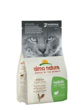 CAT DRY HOLISTIC ANTIHAIRB POLLO Y ARROZ