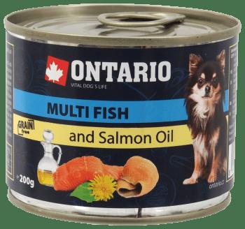 ONTARIO MINI MULTI FISH, SALMON OIL