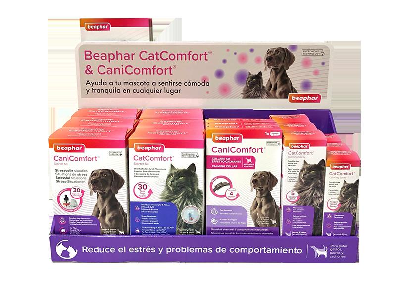 expositor cat y canicomfort