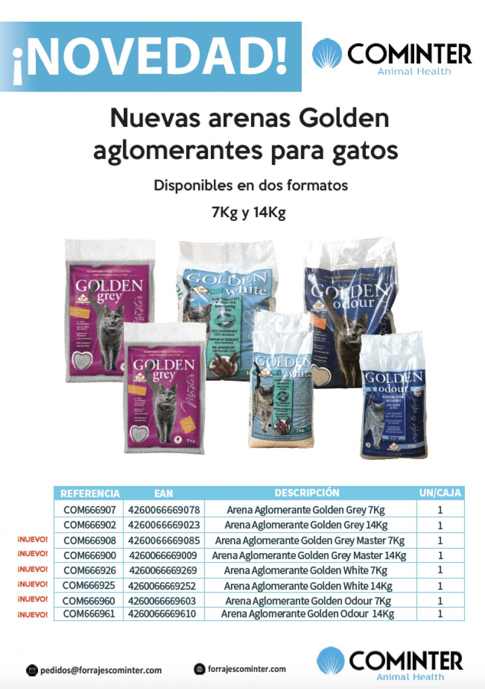 Novedad Arenas Golden