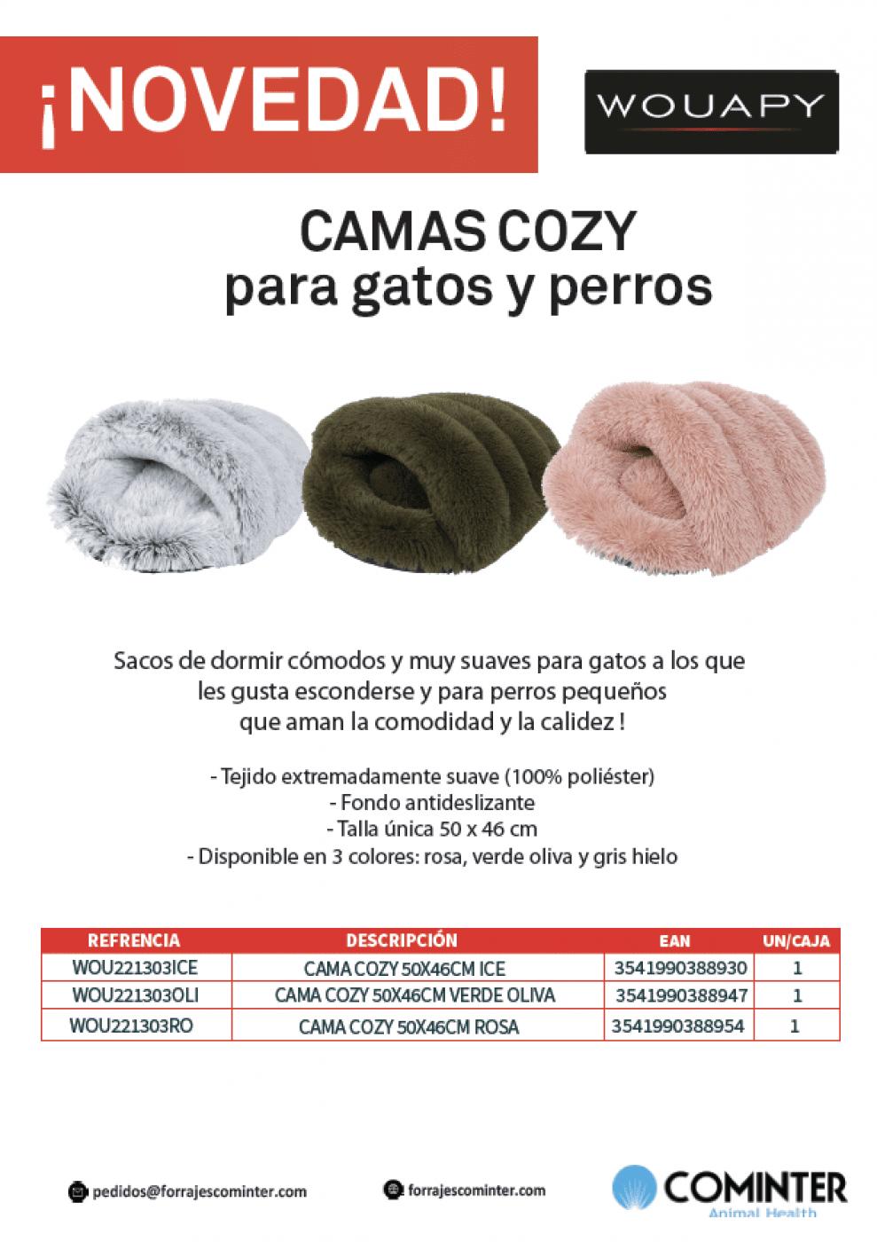 Novedad Camas Cozy