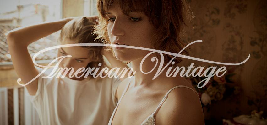 Nueva colección La Maison AMV. Esencia American Vintage