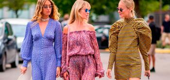 Street Style de Copenhague. Triunfan las Teva y los vestidos oversize.