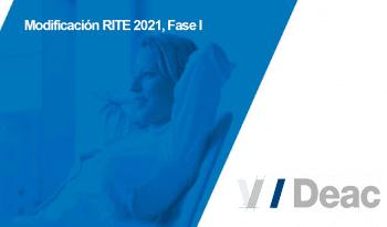 RITE 2021 - DEAC - Novedades y Modificacions