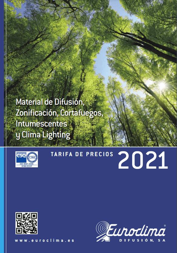 Tarifa EUROCLIMA 2021 2022