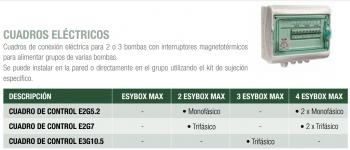 Esybox 2 cv Doble | Grupo Doble de Presión de 4 cv Totales | Cuando Instalar
