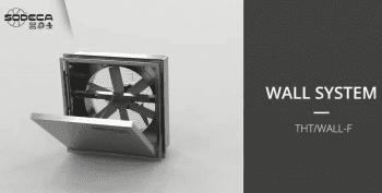 Ventilación con Compuertas Motorizadas de Sodeca