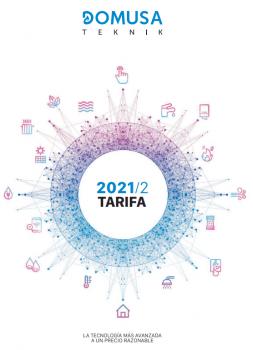 Tarifa Domusa 2021 | Novedades en Fotovoltaica | Sirena Mix Duo HFD Condens | BioClass IC | Termos Hydroinox 500