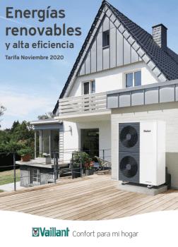 Nueva Tarifa Vaillant 2020 | Aerotermia| Renovables