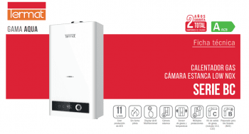 Nuevo Calentador ACS Termat 11 litros / Diseñado para el Profesional