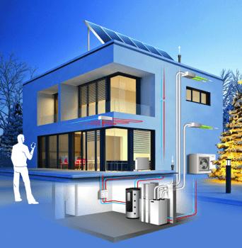 Recuperador de Calor de Alto Rendimiento y con Free-Cooling