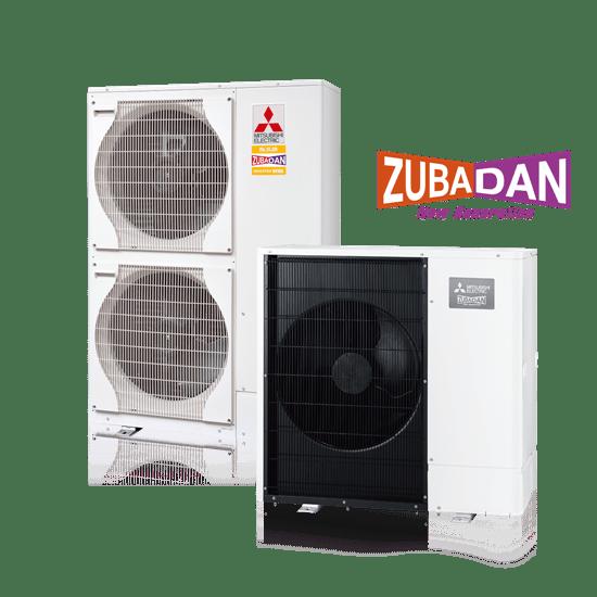 Mitsubishi presenta un sistema de Aerotermia Ecodan Zubadan 2021-2022 para climas extremos