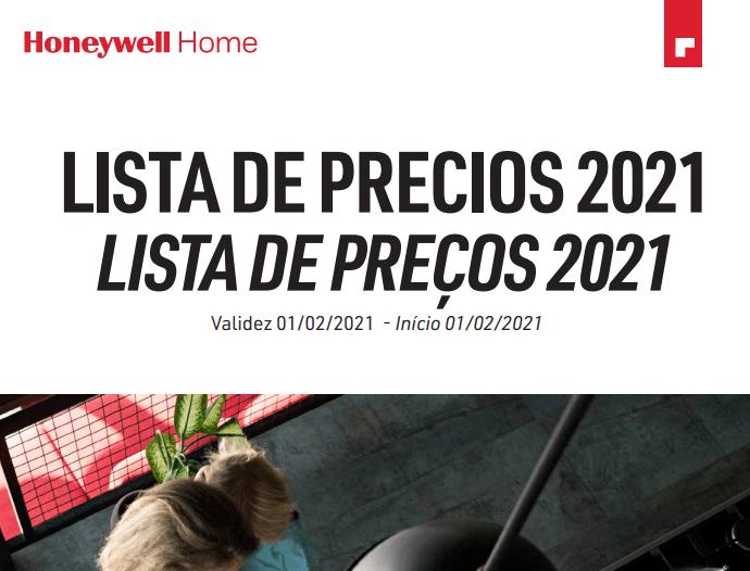 Nueva Tarifa Honeywell 2021 Resideo