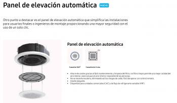 Tarifa Samsung 2021 Aire Acondicionado / Novedad