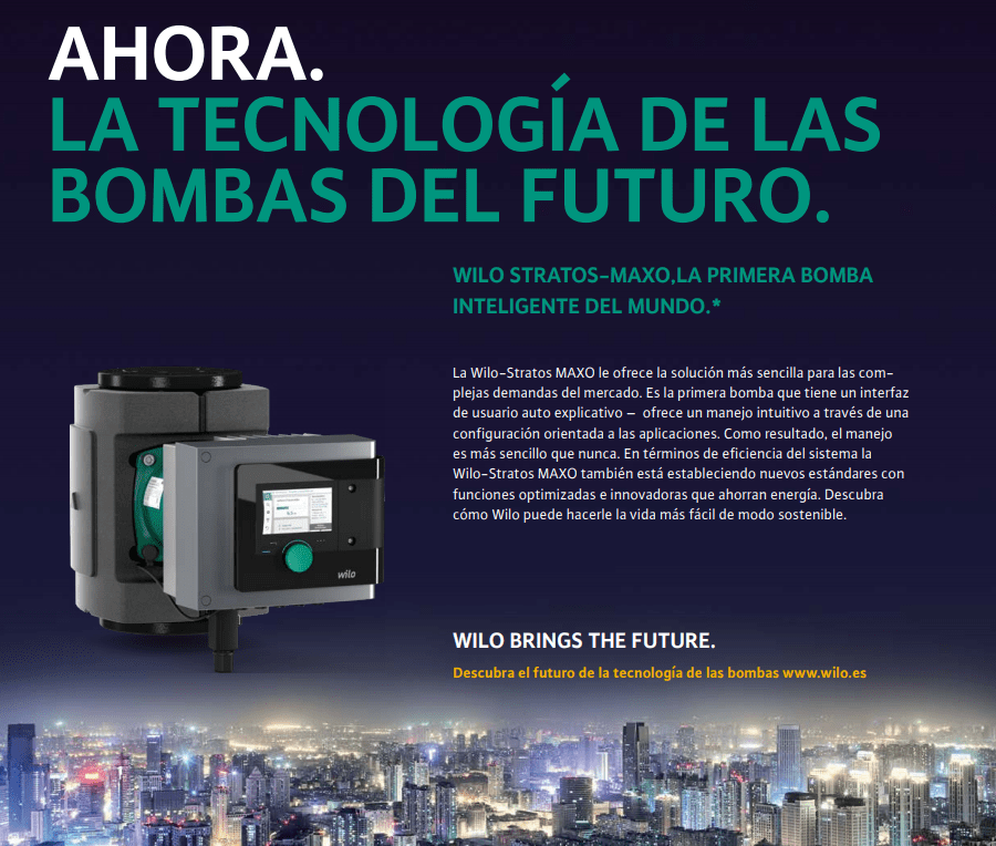 Tarifa Wilo 2021, Distribuidores Bombas Wilo Profesional