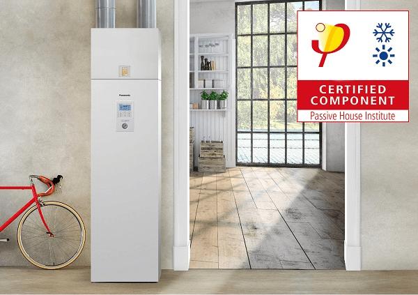 Panasonic Aquarea - Certificado Passive House - Las bombas de calor aire-agua y recuperadores de calor de Panasonic reciben la certificación de componentes Passivhaus