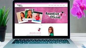 Présentation du nouveau site officiel Arantxa
