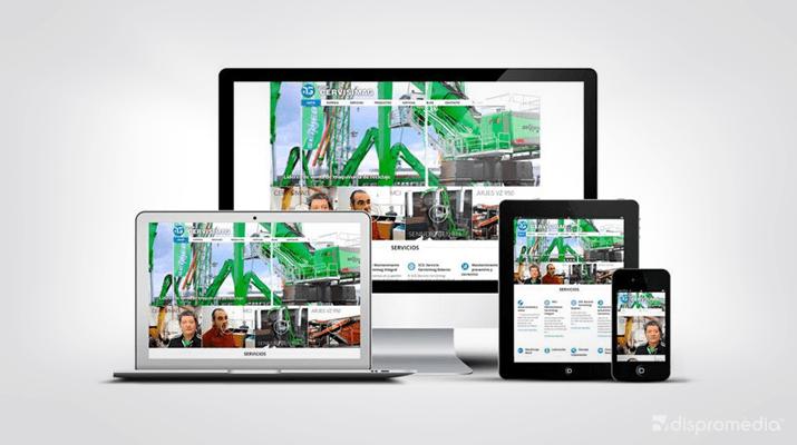 Nova pàgina web per a l'empresa Cervisimag