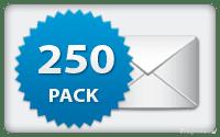 Pack SMS 250 Créditos