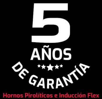 Teka 5 años de garantía Hornos Pirolíticos e Inducción Flex