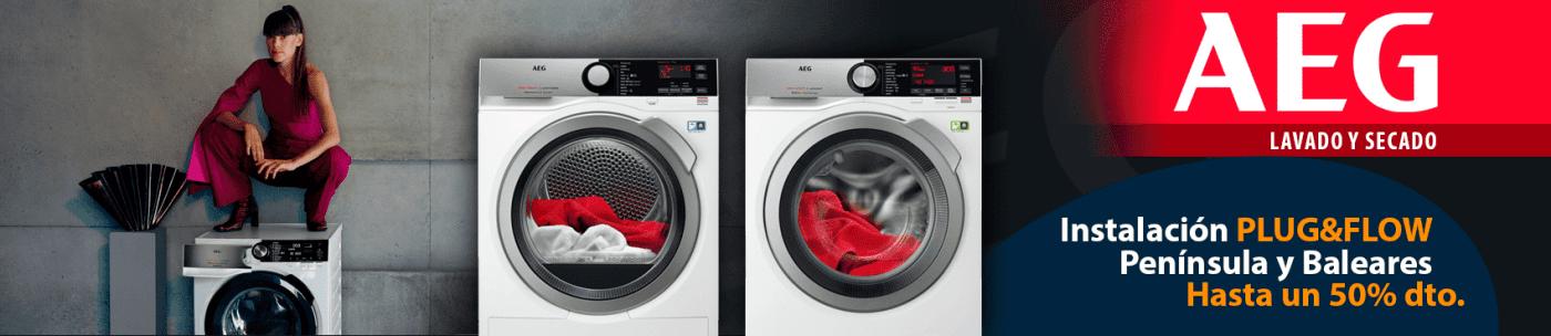 Oferta Lavasecadora AEG L7WEE861 | Serie 7000 Prosteam | Lavado 8kg Secado 6kg 1600rpm | Motor Inverter | Clase E - C 2021 (bajo consumo) | Stock