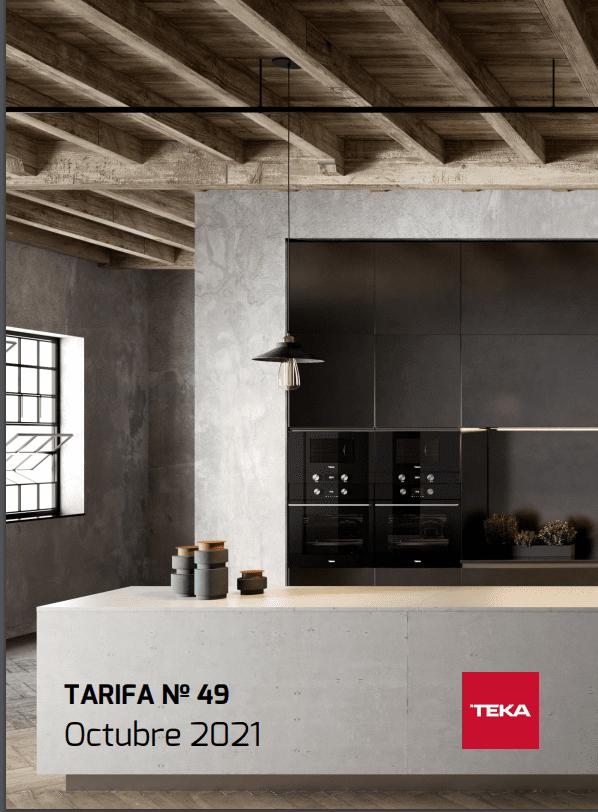 Tarifa Teka 2021 Octubre - Nueva