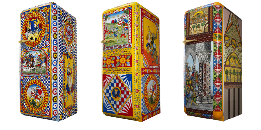 El frigorífico de Arte Dolce&Gabanna y Smeg