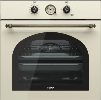Horno Teka HRB 6300 VN de 60 cm A Diseño Rústico Vainilla con 9 funciones de cocción a 5 alturas/stock