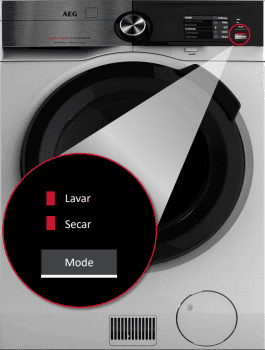 LavaSecadora AEG L9WEC163C Premium 10kg Lavado 6Kg Secado 1600rpm Clase A-40% APP WIFI STOCK | Serie 9000 - 1