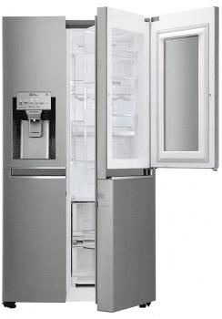 Frigorífico Americano LG GSI960PZAZ Inox Antihuellas Door in Door Dispensador agua y hielo Wifi | Clase F - 2