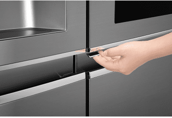Frigorífico Americano LG GSI960PZAZ Inox Antihuellas Door in Door Dispensador agua y hielo Wifi | Clase F - 4