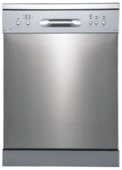 EDESA EDW-6121 X Lavavajillas Acero Inoxidable 60cm | Función Media Carga | Programa rápido 30 min. | 12 Servicios A++ - 2